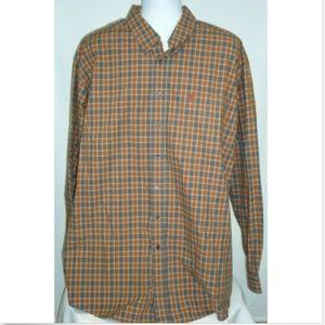 Cinch Men's XXL Long Sleeve Button Down Shirt